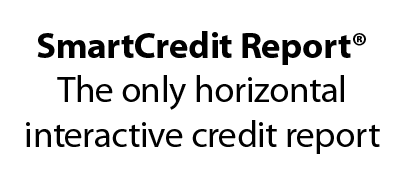 Smart Credit Report, the only horizontal interactive credit report